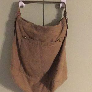 Flannel Vintage Bucket Bag